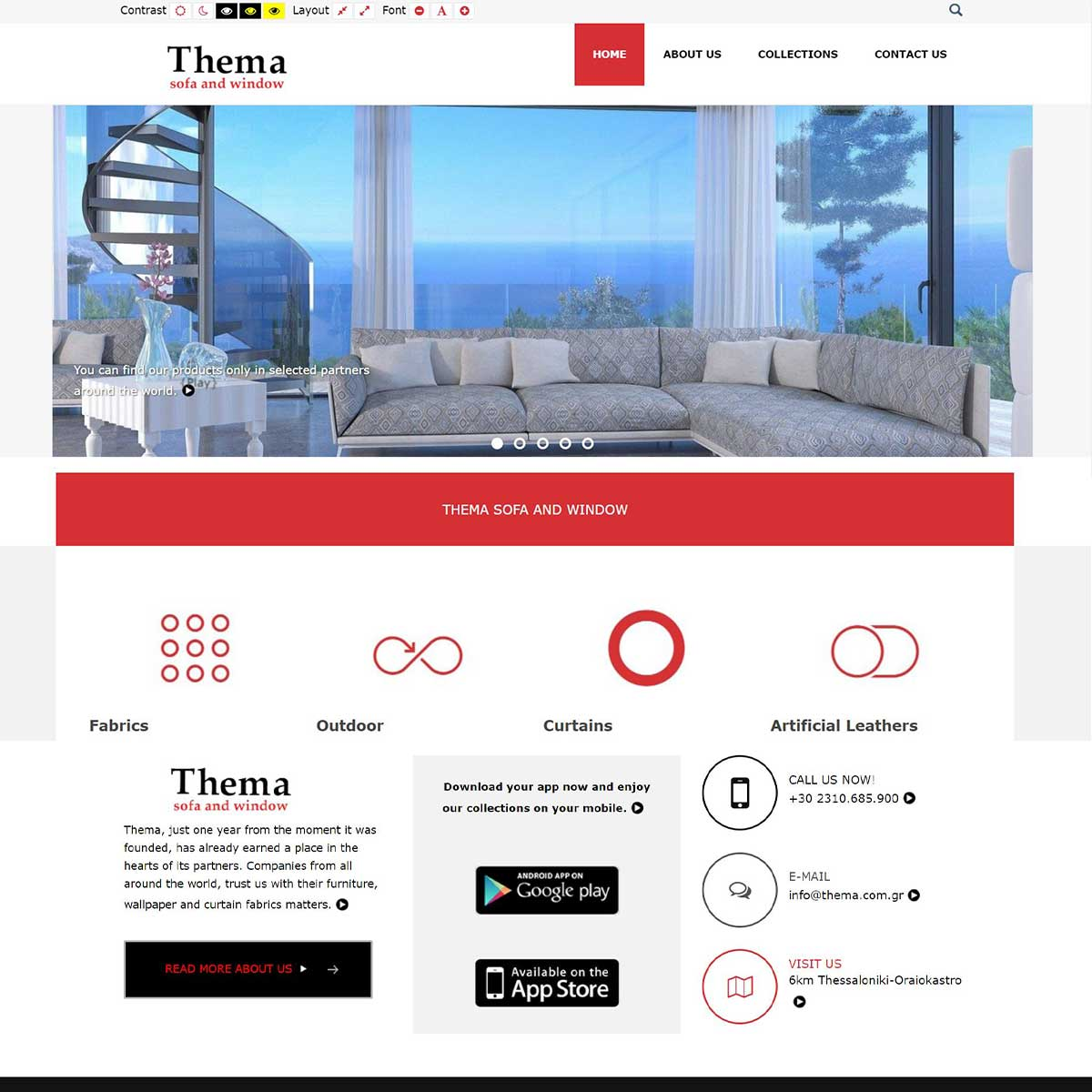 Thema Amea site